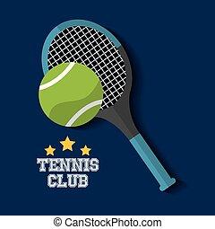 tennis club racket and ball sport