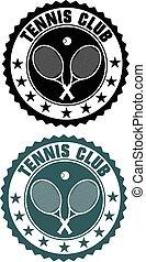 Tennis club stamp
