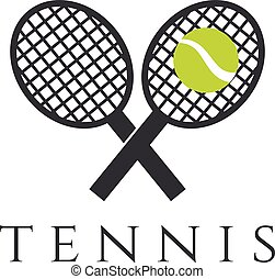 tennis club vector illustration