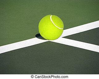 Tennis concept.