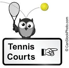 tennis corteggia