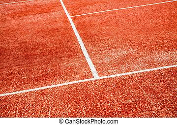 tennis court close-up background