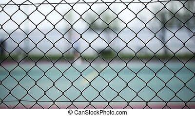 Tennis Court Game Sport Activity