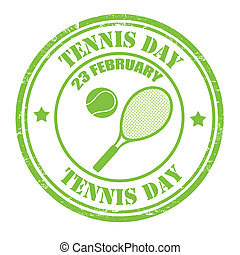 Tennis Day stamp