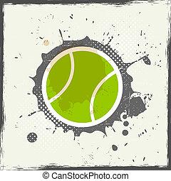 tennis, grunge