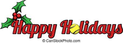 Tennis Happy Holidays
