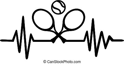 Tennis heartbeat pulse