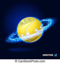 Tennis high voltage