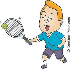 tennis, homme