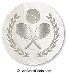 tennis, icône