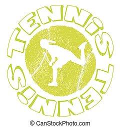 Tennis icon design