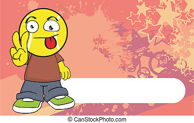 tennis kid cartoon background4 - tennis kid cartoon...