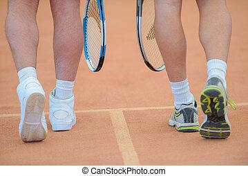 tennis, mannschaft