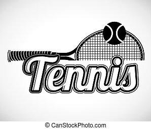 tennis, ontwerp