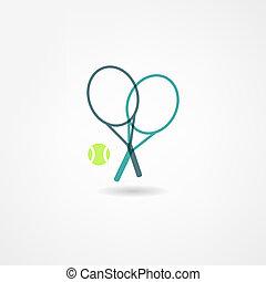 tennis, pictogram