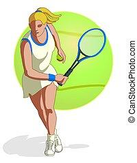 tennis player female