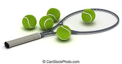 Tennis Racket - Single tennis racket