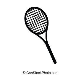 Tennis racket icon