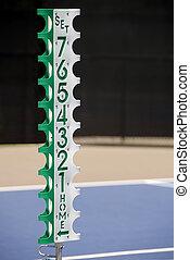 tennis, scorekeeper