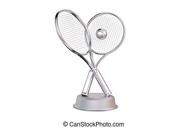 Tennis Silver Trophy
