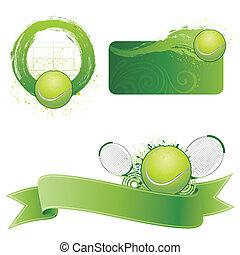 tennis sport design element