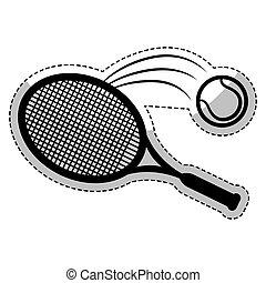 tennis sport design
