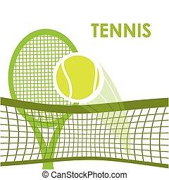tennis sport design, vector illustration eps10 graphic