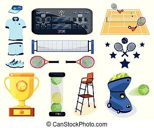 Tennis sport set