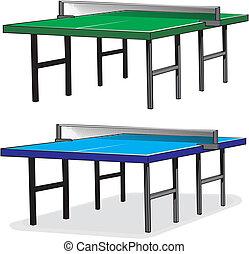 tennis, table