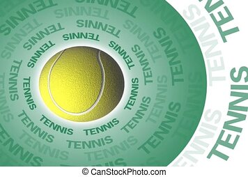 tennis, tennis ball, sports
