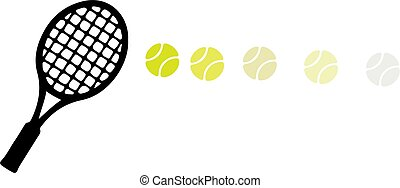 tennis vector illustration isolated on background