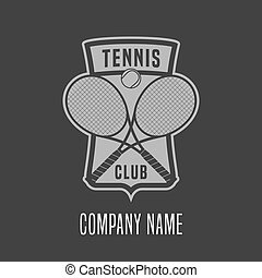 Tennis vector logo