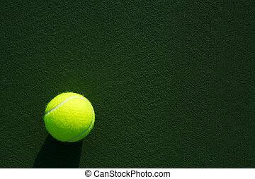 tennisplatz, kugel