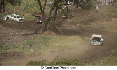 Tense race - Off-road racing to sports cars special....