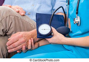 tension artérielle, mesure