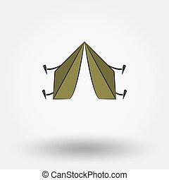 tent., 観光客