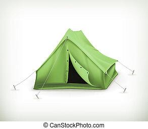 Tent, vector