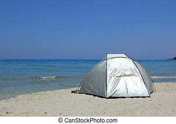 tente plage