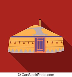 tent.housing, διαμέρισμα , ρυθμός , αρχαίος , illustration., patterns.mongolian, σύμβολο , mongols.mongolia, τέντα , μονό , μικροβιοφορέας , μογγολικός , στοκ , εικόνα