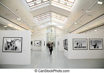 tentoonstelling, alles, foto's, mijn, zetten, yours, nu