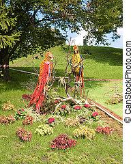 tentoonstelling, flowers., natuurlijke