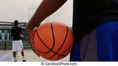 tenue, 4k, joueur, basket-ball