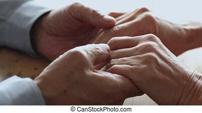 tenue, famille, personne agee, fin, vieux, ensemble, haut,...