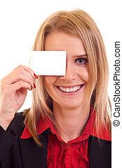 tenue femme, carte, vide