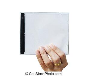 tenue main cd, couverture