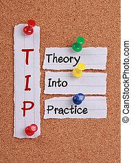 teoria, in, practice(tip, acronym)