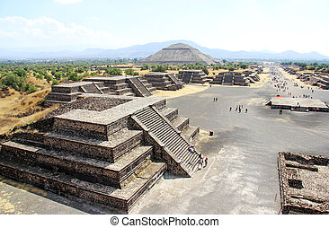 teotihuacan, messico
