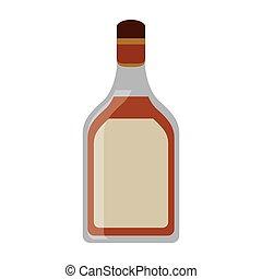 tequila, bevanda, bottiglia, alcolico