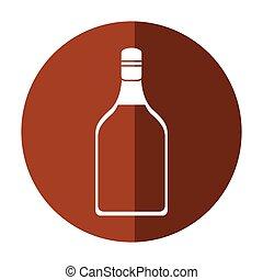 tequila, bevanda, uggia, bottiglia, alcolico