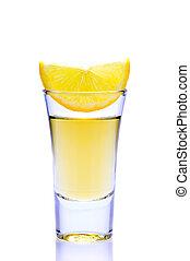 tequila, citron